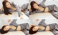 Sắc vóc gợi cảm, nhan sắc cuốn hút của người mẫu nội y gốc Hoa