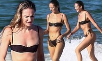 Thiên thần nội y Nam Phi gợi cảm hút hồn tắm biển Miami