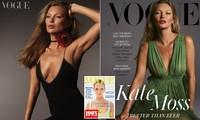 Huyền thoại làng mốt Kate Moss U50 diện váy khoét ngực sâu trẻ trung bất ngờ