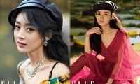 Triệu Lệ Dĩnh trẻ xinh ngỡ ngàng trên Elle số tân niên 2021