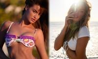 Người mẫu Mỹ Haley Kalil nóng 'bỏng mắt' trong ảnh bikini khoe số đo 'vàng'