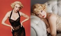 'Bông hồng nước Pháp' thả dáng bốc lửa khi hóa thân huyền thoại Marilyn Monroe