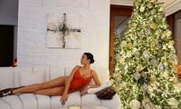 Bạn gái Ronaldo mặc nội y nóng bỏng