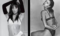 Bella Hadid đọ sắc mỹ nhân Nga Irina Shayk trong loạt ảnh nội y