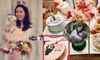 Son Ye Jin đón tuổi 39 ngập hoa và quà, fan tái hiện khoảnh khắc 'hạ cánh nơi anh'