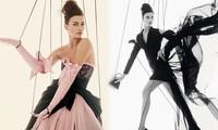 Siêu mẫu Nga Irina Shayk khoe chân dài miên man