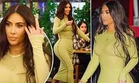 Mỹ nhân độc thân quyến rũ Kim Kardashian lần đầu lộ diện sau đệ đơn ly hôn
