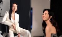 Người hâm mộ thích thú khoảnh khắc nhí nhảnh của 'người đẹp khóc' U50 Choi Ji Woo