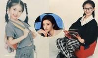 Ảnh thuở nhỏ của 'đệ nhất mỹ nữ Bắc Kinh' Cảnh Điềm chứng tỏ nhan sắc xinh từ bé