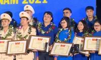 Vinh danh 98 cán bộ Đoàn xuất sắc được trao Giải thưởng Lý Tự Trọng năm 2021