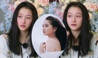 Bạn gái Luhan gây chú ý khi để mặt mộc