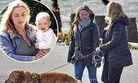Người đẹp phim 'Titanic' Kate Winslet hiếm hoi xuất hiện cùng con gái 20 tuổi