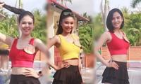 Dàn thí sinh Hoa khôi ĐH Nam Cần Thơ khoe sắc với trang phục thể thao