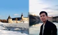 Chàng trai Việt lên truyền hình Nga, được gửi thư cảm ơn vì cứu hai bé trai ngã sông băng