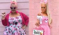 Cô gái 'lột xác' giảm 90kg trong 2 năm, giống hệt búp bê Barbie ngoài đời thực