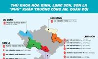 Thủ khoa Hòa Bình, Lạng Sơn, Sơn La 'phủ' khắp trường công an, quân đội