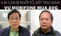 [Infographics] 6 bị can bị khởi tố, bắt tạm giam vụ MobiFone mua AVG
