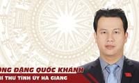 Tân Bí thư Hà Giang Đặng Quốc Khánh, người kế nhiệm ông Triệu Tài Vinh