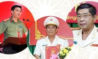 Hàng loạt giám đốc công an tỉnh vừa được điều động, bổ nhiệm