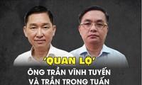 'Quan lộ' của ông Trần Vĩnh Tuyến và Trần Trọng Tuấn