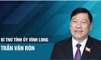 Chân dung Bí thư Tỉnh uỷ Vĩnh Long Trần Văn Rón
