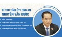 Chân dung bí thư Tỉnh ủy Long An Nguyễn Văn Được