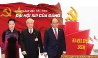 Ngày làm việc đầu tiên Đại hội XIII của Đảng