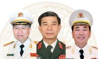 Chân dung 5 tướng lĩnh quân đội, công an được giới thiệu ứng cử Quốc hội