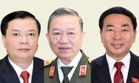 Các Bộ trưởng, Thứ trưởng ứng cử Quốc hội khoá XV