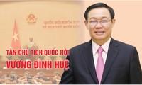 Chân dung tân Chủ tịch Quốc hội Vương Đình Huệ