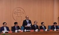 Thủ tướng Chính phủ làm việc với Hà Nội