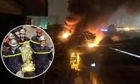Rớt nước mắt cảnh thi thể 3 mẹ con ôm nhau trong vụ cháy 8 người chết, mất tích