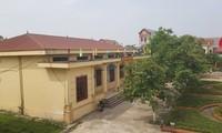 Xã Tân Tiến - một trong những xã có nhiều dự án nằm trong diện thanh tra lần này. Ảnh: Trần Hoàng