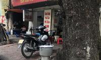 Bếp than tổ ong trên đường phố Hà Nội