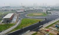 Trường đua F1 Mỹ Đình đang dần hình thành