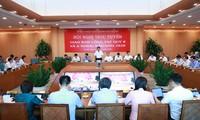 UBND TP Hà Nội giao ban công tác quý 2 và 6 tháng đầu năm 2020 dưới sự chủ trì của Chủ tịch UBND TP Nguyễn Đức Chung.