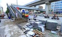 Giám đốc Sở Xây dựng Hà Nội yêu cầu các quận, huyện lát đá vỉa hè phải theo đúng tiêu chuẩn
