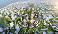 Phối cảnh khu đô thị Hòa Lạc