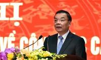Ông Chu Ngọc Anh - tân Chủ tịch UBND TP Hà Nội
