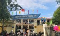 Trường mầm non Trường Yên, một trong những nơi HTX Chúc Sơn cung cấp