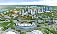 Hình ảnh 3D đô thị vệ tinh Hòa Lạc