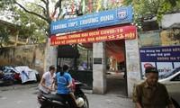 Cận cảnh trường Trương Định xuống cấp chờ sập, dự án cải tạo vướng thủ tục