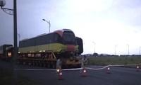 Tàu metro Nhổn - ga Hà Nội đã về đến Phủ Lý (Hà Nam) sáng nay
