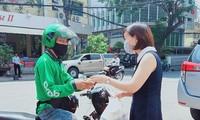 Hoạt động giao hàng tại Hà Nội