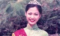Hoa hậu Nguyễn Thu Thủy: Nhớ mãi nụ cười ngày đăng quang trở về thăm trường cũ