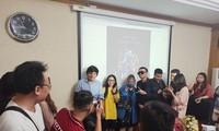 Đạo diễn Trần Thanh Huy và rapper Wowy truyền cảm hứng làm phim cho sinh viên