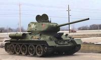 Một chiếc xe tăng T-34 của Hồng quân Liên Xô. Ảnh: Wikimedia