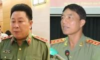 Trung tướng Bùi Văn Thành và Thượng tướng Trần Việt Tân