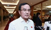 Ông Dương Quang Thành, Chủ tịch EVN (ảnh Như Ý)