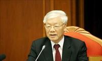 Tổng Bí thư, Chủ tịch nước Nguyễn Phú Trọng (ảnh TTXVN)